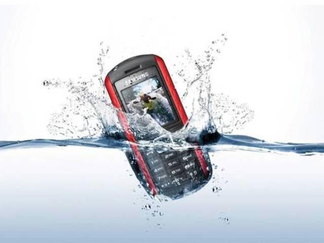 First waterproof phone