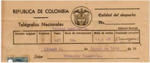 La llegada del telégrafo a colombia