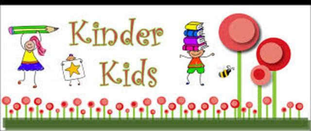 Inicio mi educación Kinder
