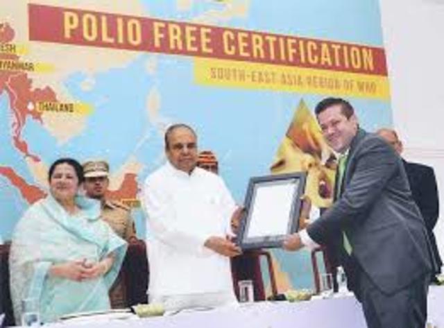 Southeast Asia Region Polio Free