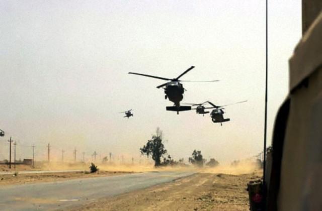 Iraq War Begins