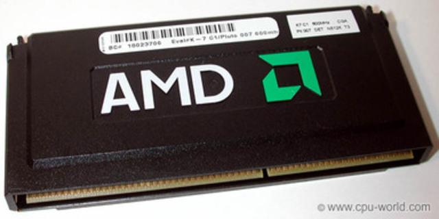 El AMD Athlon K7