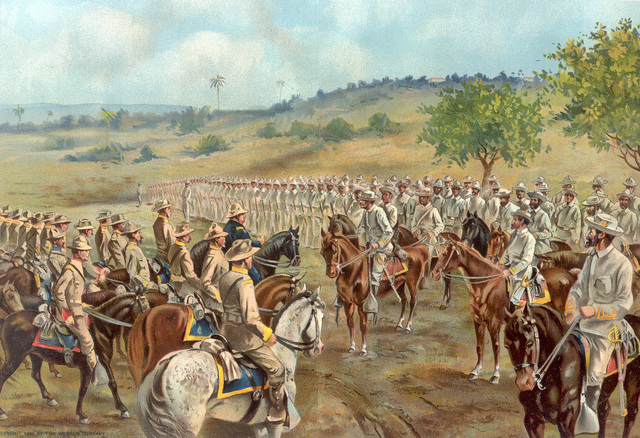 Spanish-American War- Surrender