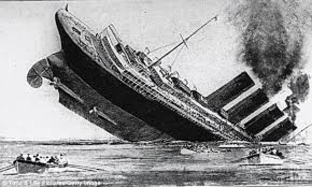 WW1- Germany sinks ships