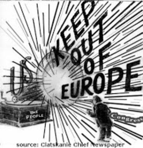 WW1-Declaration of Neutrality
