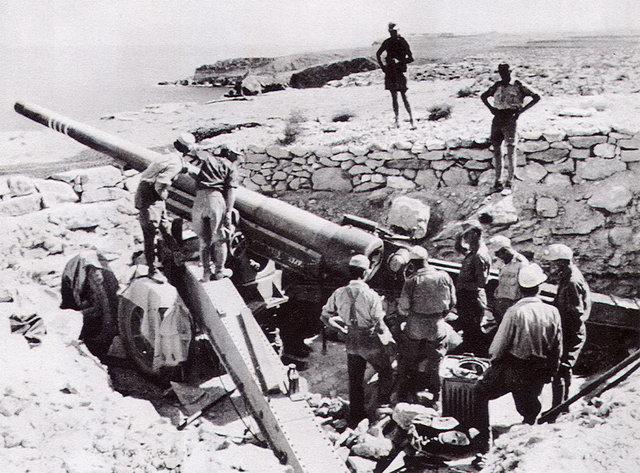 Australian army begins action against Italians and Libya
