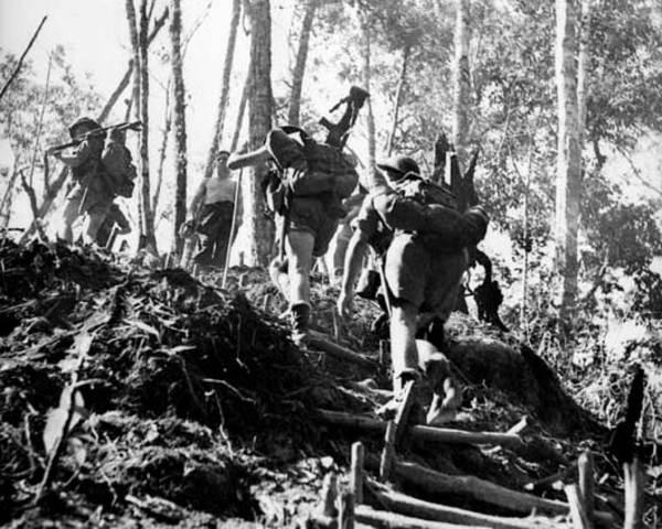 Battle along Kikoda trail