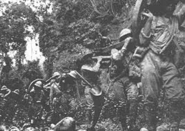 Japanese Army takes control of Kokoda