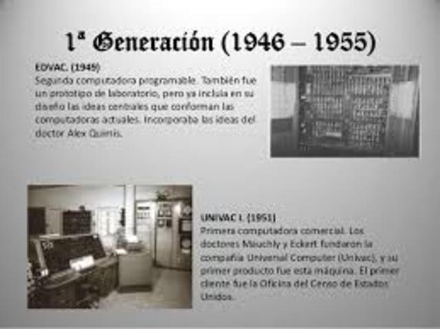 primera generacion de ordenadores
