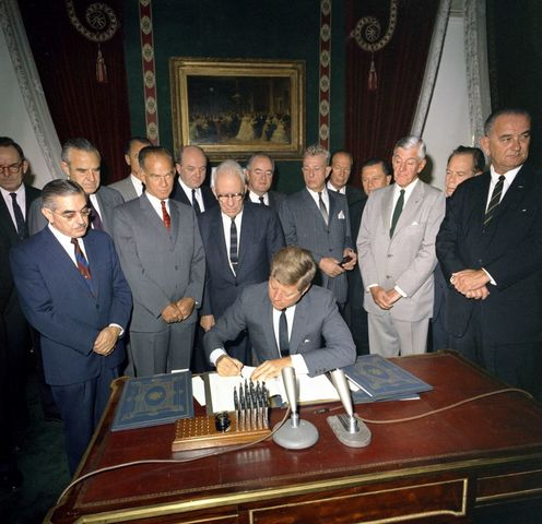 Nuclear Test Ban Treaty