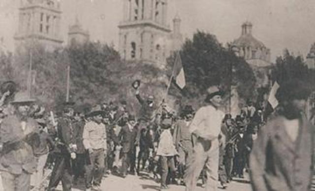 Revuelta en Ciudad de Mèxico
