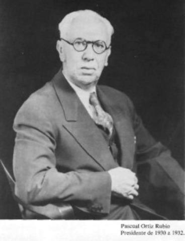 Pascual Ortiz Rubio.