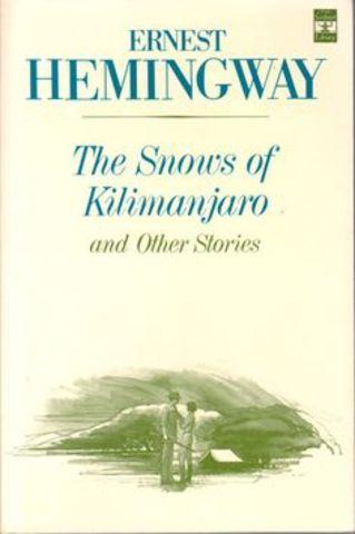 """The Snows of Kilimanjaro"""
