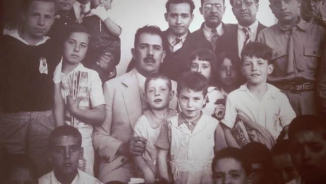 Refugiados españoles.
