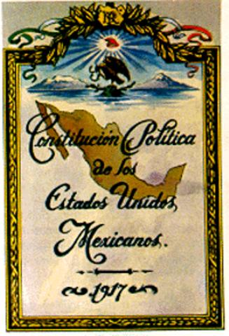 Se Promulga la Constituciòn de 1917