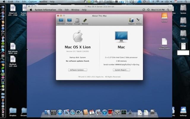 """Mac OS 10.7 X """"Lion"""""""