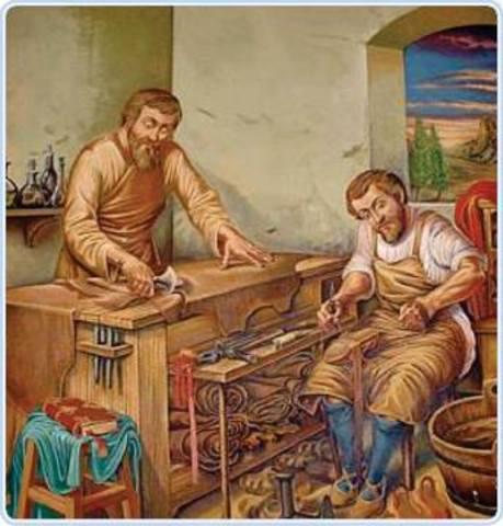 Pequeñas industrias (Durante el feudalismo)