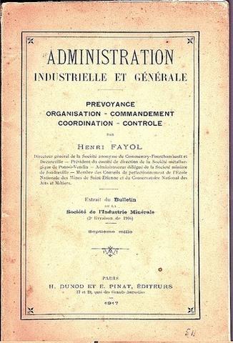 Administration industrielle et générale