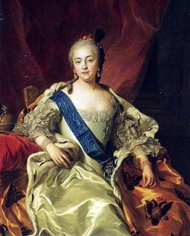 Елизаве́та I Петро́вна