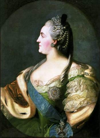 Екатери́на II Алексе́евна Вели́кая