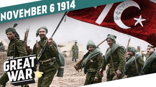 The Ottoman Empire enters World War I