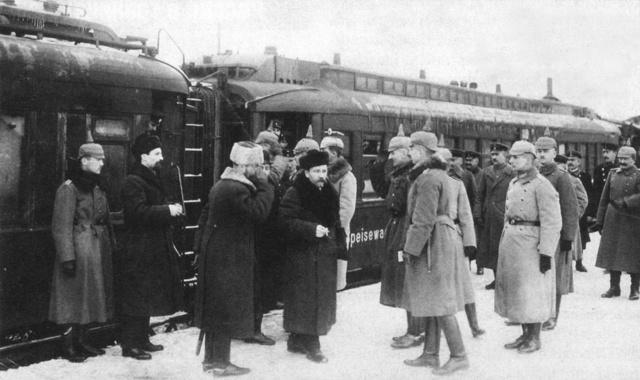 The Treaty of Brest-Litovsk returns Armenia to the Ottoman Empire