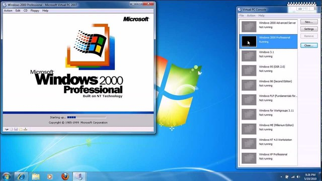 Microsoft Windows 2000 is released to the general public.