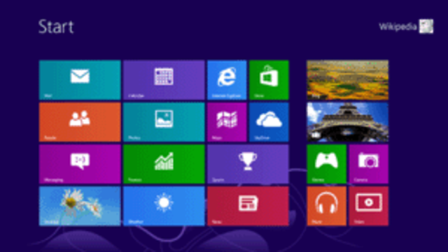 Microsoft Windows 8 operating system is released to the general public