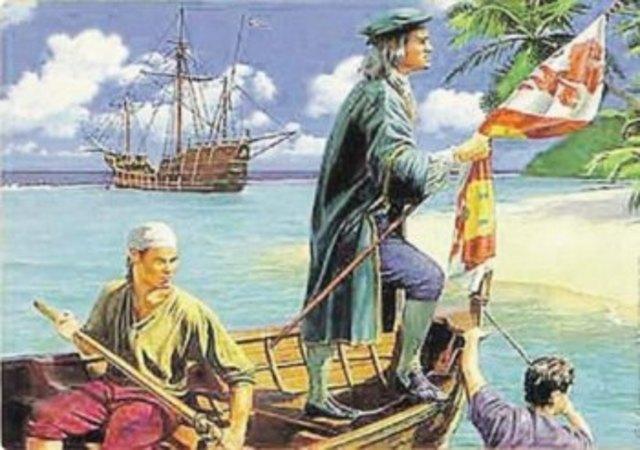 Открытие Гаити