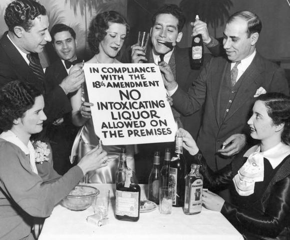 The 18th Amendment (Prohibition)