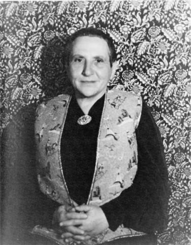 "Gertrude Stein's first major publication ""Three Lives"""