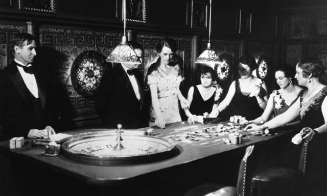 Nevada legalizes gambling.