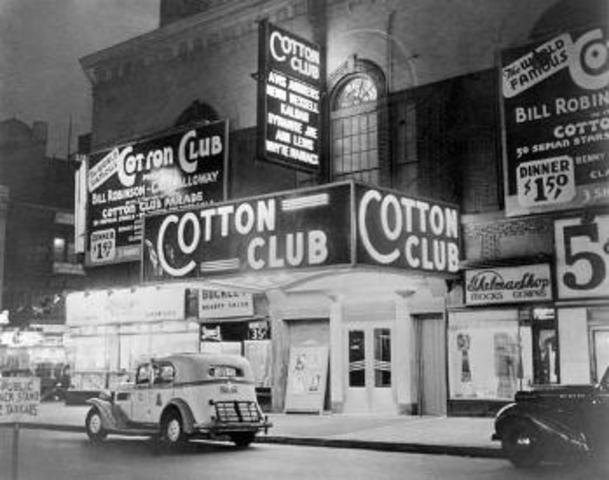 Jazz Musicians in the 1920's / Cotton Club Performers
