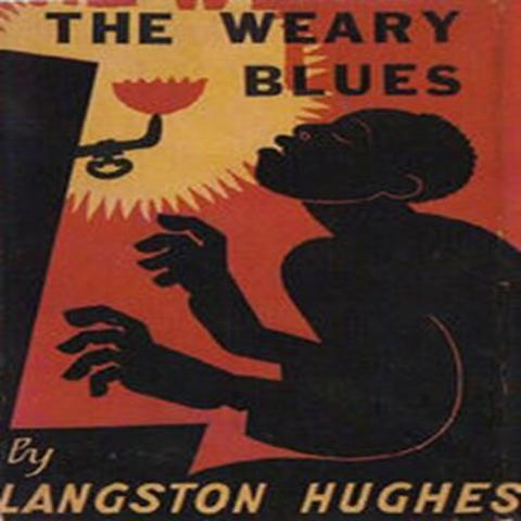 """"""" The Weary Blues"""" is written by Langston Hughes"""