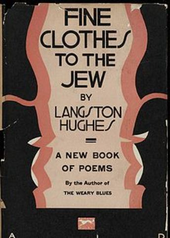 """""""Fine Clothes to the Jew"""" is Written by Langston Hughes"""
