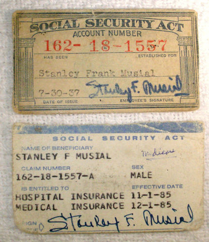 1st US social security payment made.