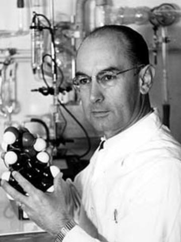 Sandoz Labs manufactures LSD (lysergic acid diethylamide).