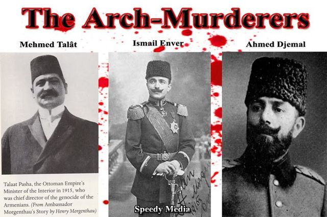 One of the Three Pashas is killed in Berlin