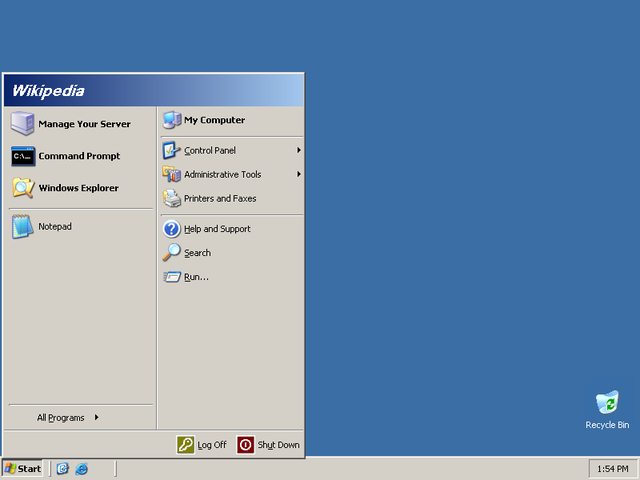 Microsoft Windows Server 2003 is released for manufacturing