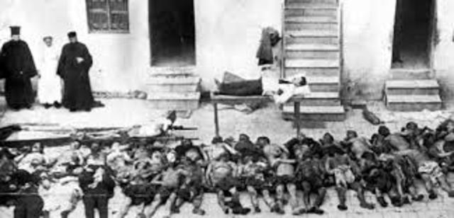 Masacres begin in vilayet of Trebizond