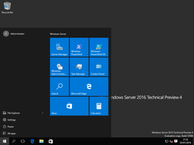 Microsoft Windows Server 2016s latest preview was released