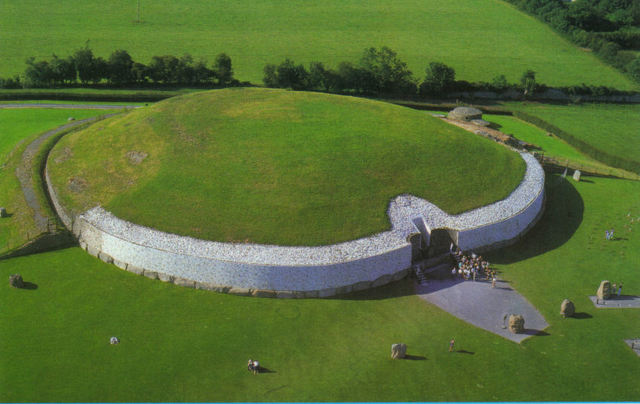 The Newgrange tomb