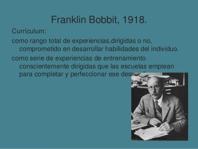 Franklin Bobbit