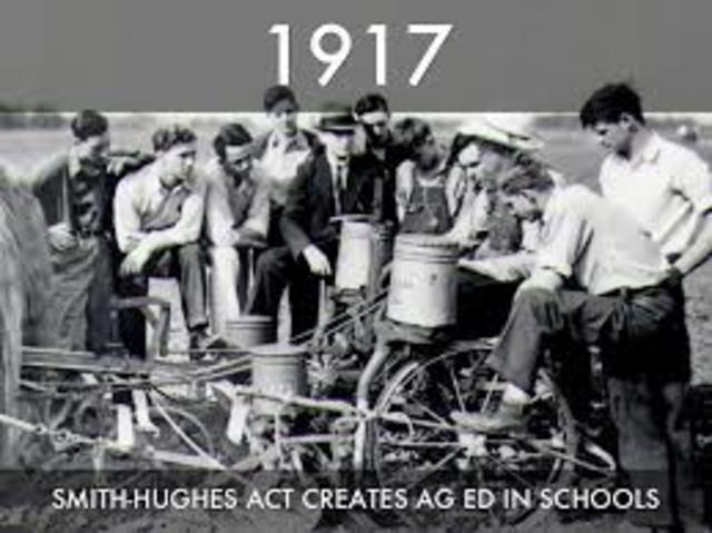 Smith Hughes Vocational Education Act