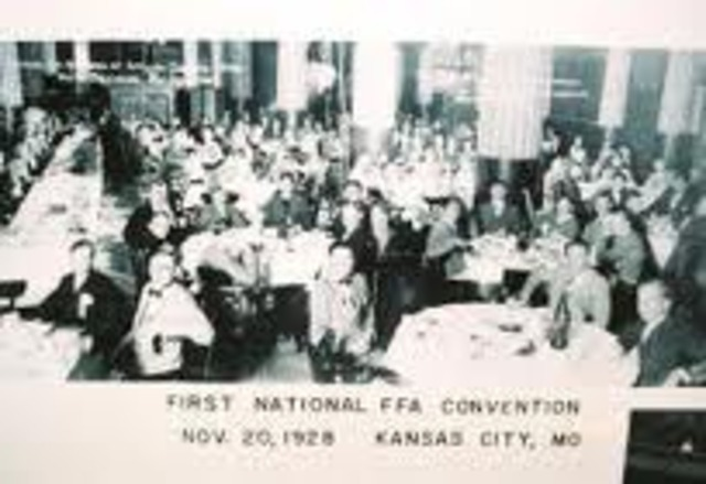 First National FFA Convention Held