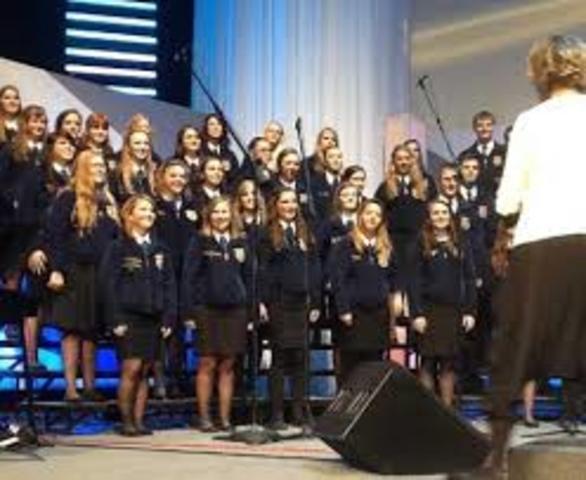 National FFA Chorus premieres