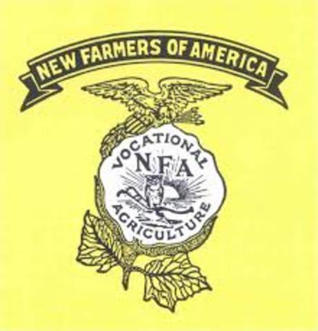 New Farmers of America formed