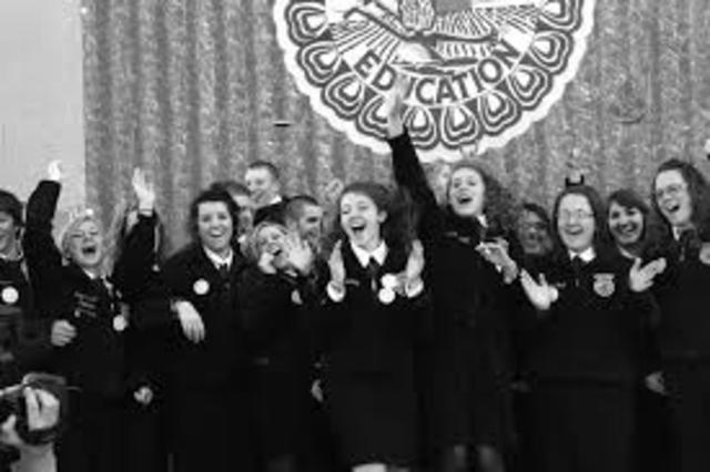 Girls admitted to FFA membership