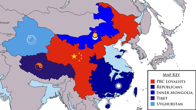 Chinese Civil War Resumes