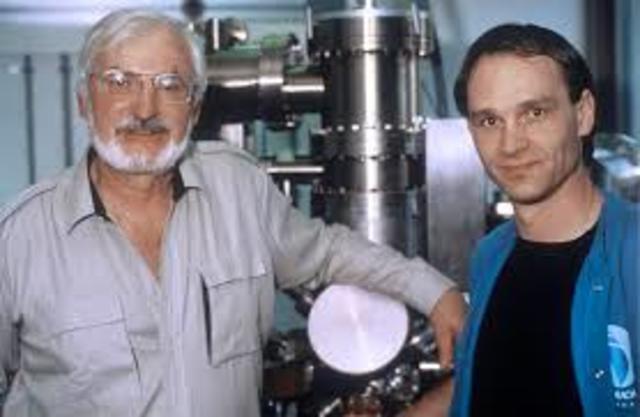 Gerd Binnig and Heinrich Rohrer